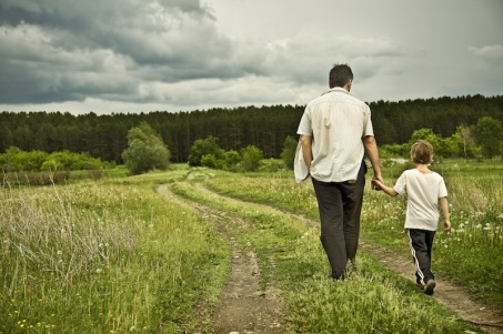 father-walking-with-son